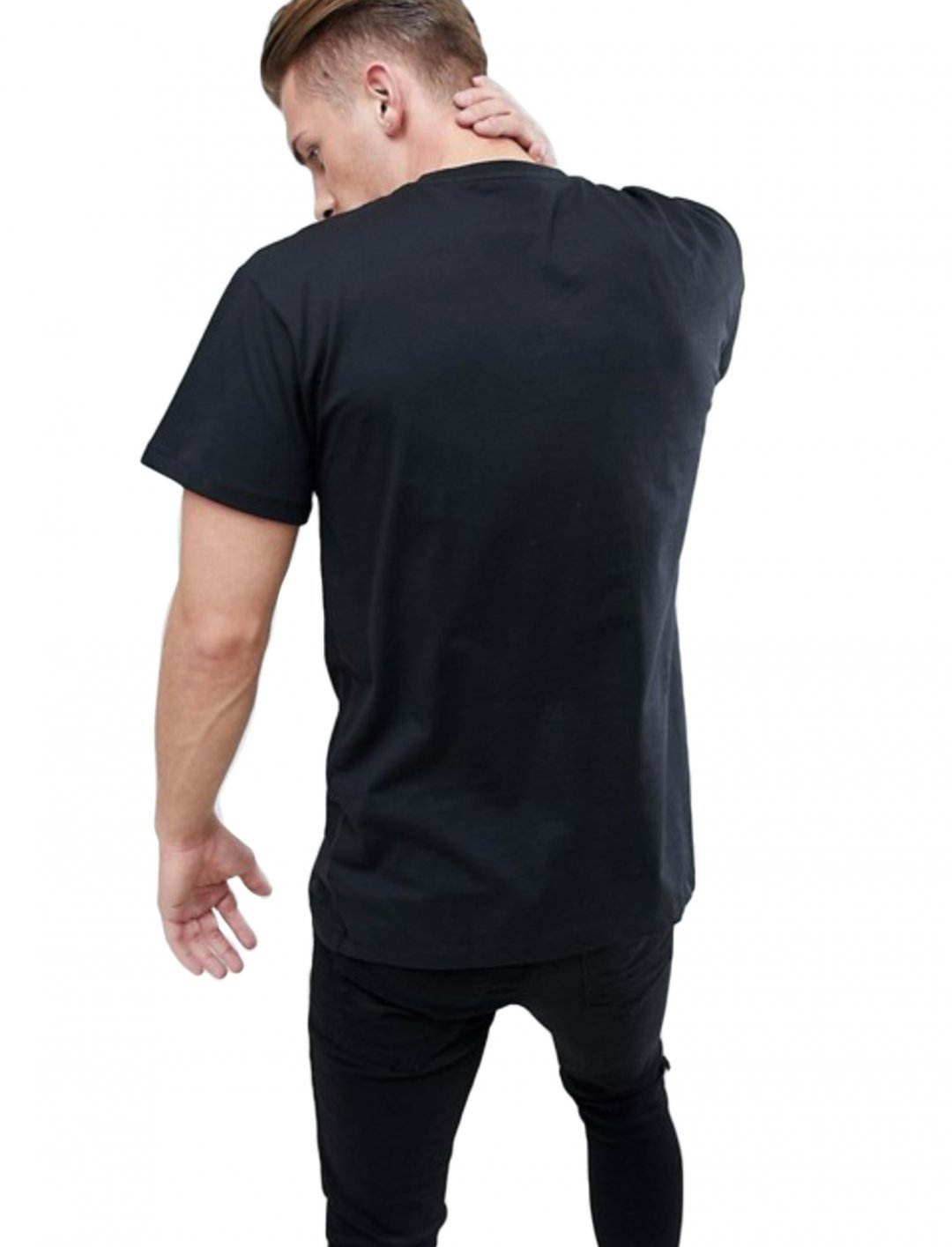 "T-Shirt In Black {""id"":5,""product_section_id"":1,""name"":""Clothing"",""order"":5} New Look"