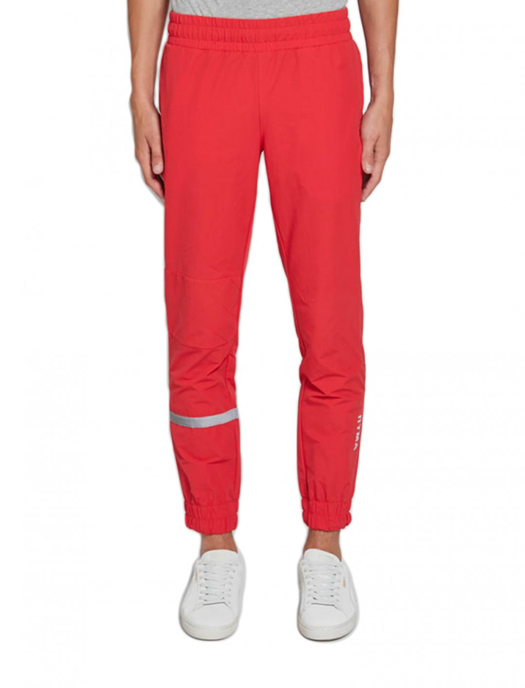 "Track Pants In Red {""id"":5,""product_section_id"":1,""name"":""Clothing"",""order"":5} Puma x Outlaw"