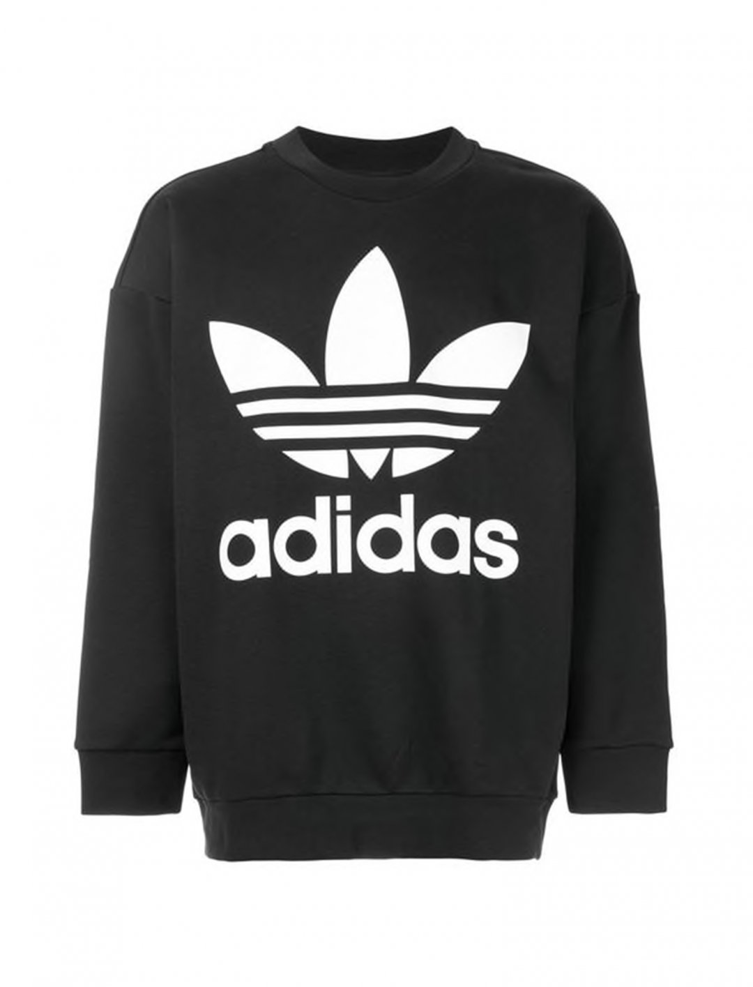 "Trefoil Oversized Sweatshirt {""id"":5,""product_section_id"":1,""name"":""Clothing"",""order"":5} adidas Originals"