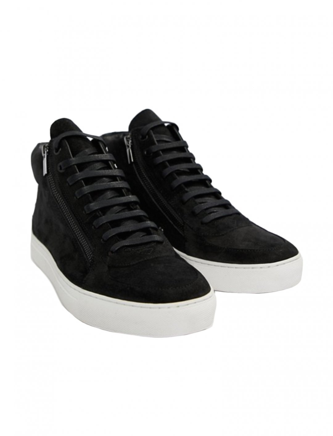 "Zip Suede Trainers {""id"":12,""product_section_id"":1,""name"":""Shoes"",""order"":12} HUGO"