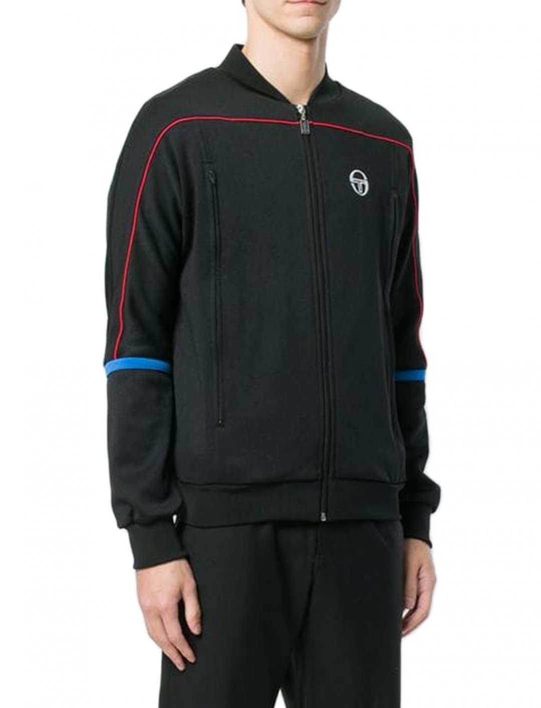 "Zipped Sports Jacket {""id"":5,""product_section_id"":1,""name"":""Clothing"",""order"":5} Sergio Tacchini"