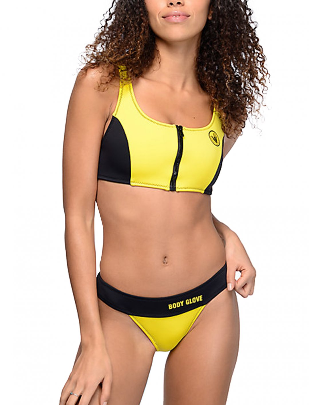 "80's Throwback Call Me Swim Top {""id"":5,""product_section_id"":1,""name"":""Clothing"",""order"":5} Body Glove"