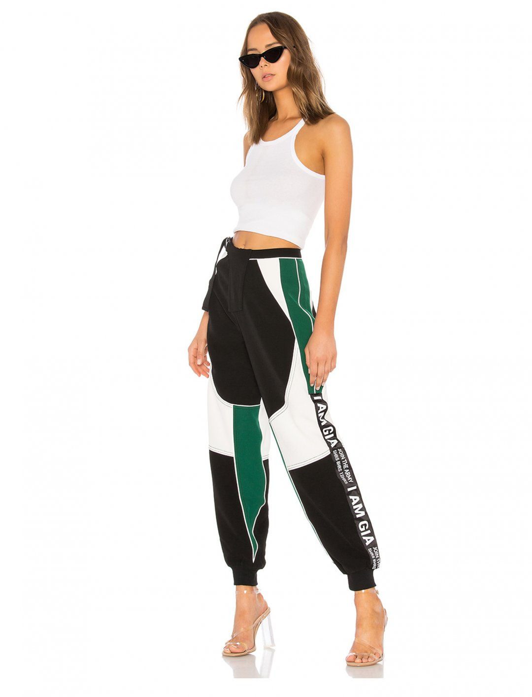 "I AM GIA Dark Electra Pants {""id"":5,""product_section_id"":1,""name"":""Clothing"",""order"":5} I.AM.GIA"