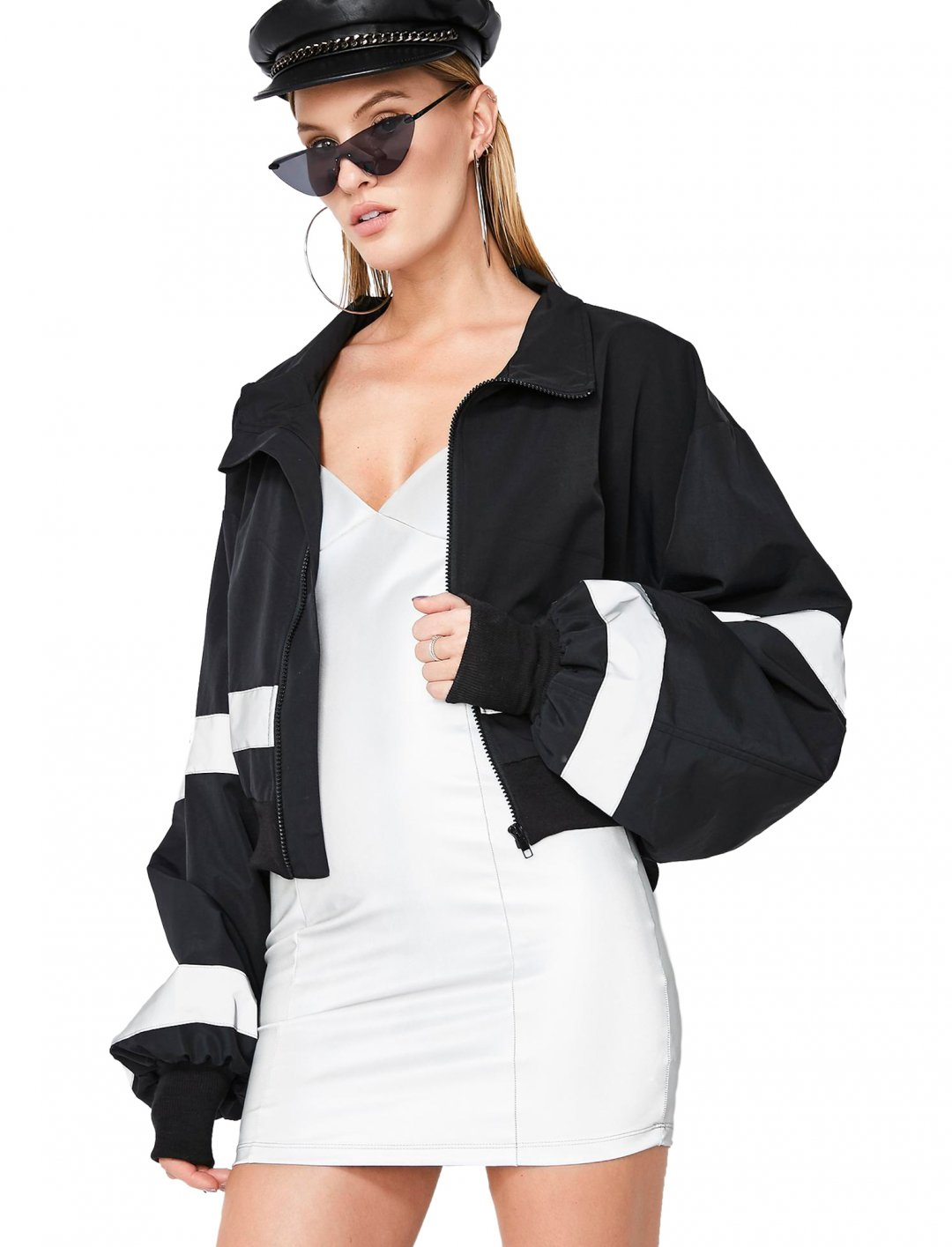 "Meghan's Cropped Jacket {""id"":5,""product_section_id"":1,""name"":""Clothing"",""order"":5} Poster Grl"