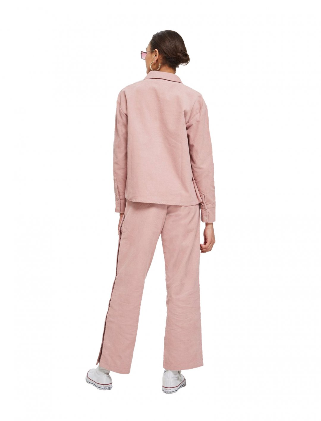 "Norr Cord Popper Trousers {""id"":5,""product_section_id"":1,""name"":""Clothing"",""order"":5} Norr"