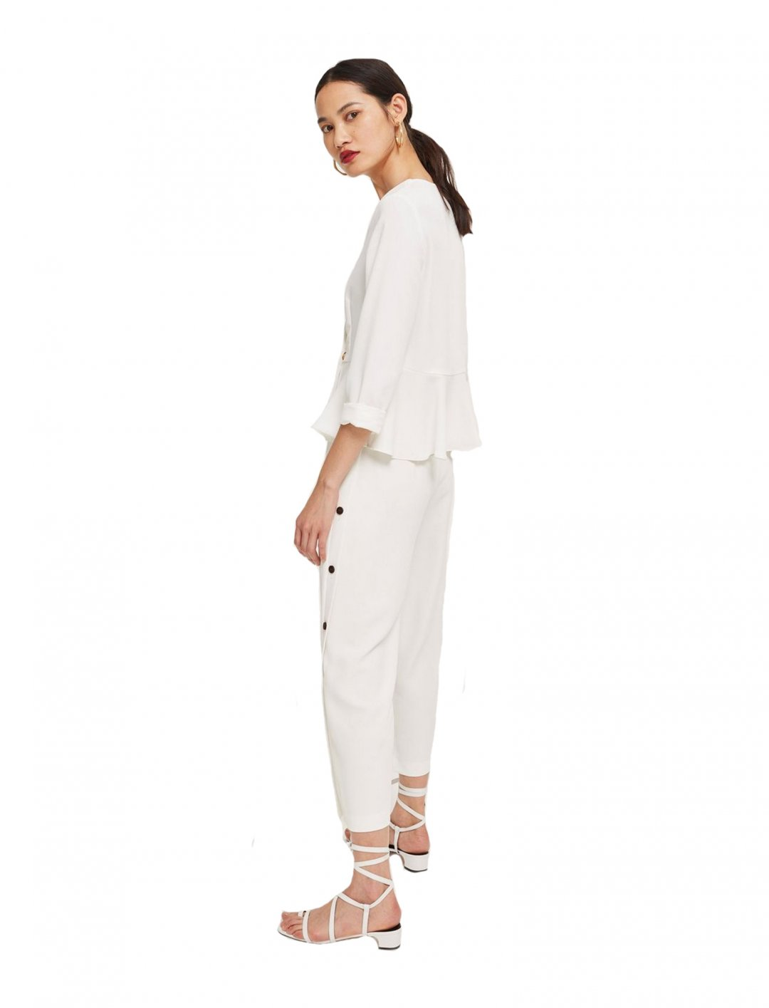 "Topshop Wide Leg Trousers {""id"":5,""product_section_id"":1,""name"":""Clothing"",""order"":5} Topshop"