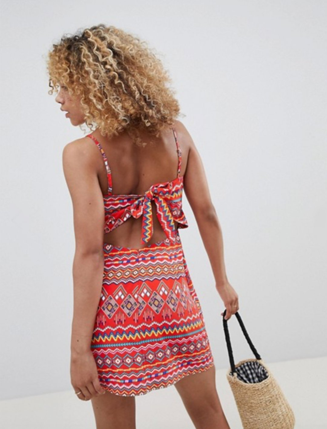 "Aztec Print Cami Dress {""id"":5,""product_section_id"":1,""name"":""Clothing"",""order"":5} Glamorous"