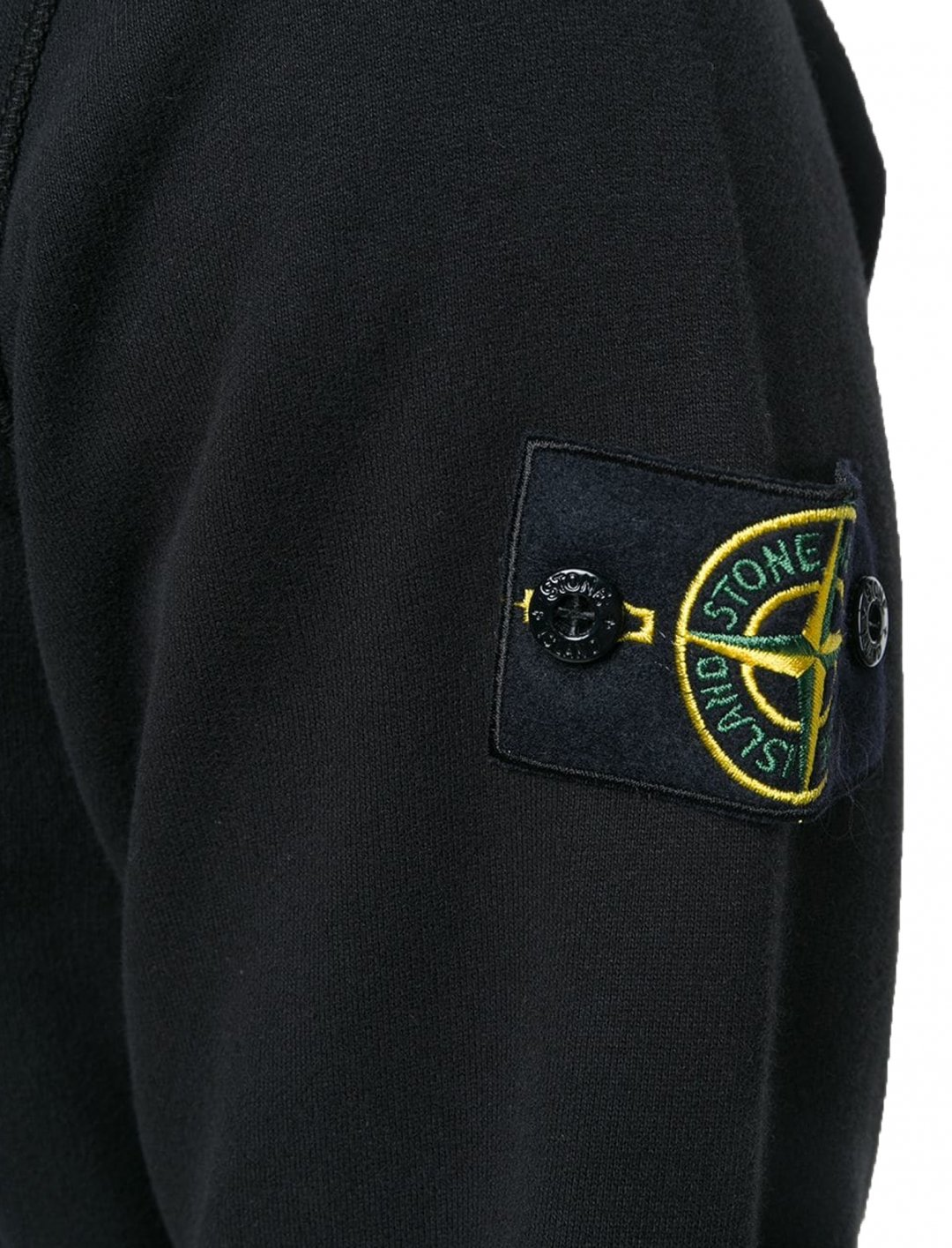 "Black V-neck Pullover {""id"":5,""product_section_id"":1,""name"":""Clothing"",""order"":5} Stone Island"