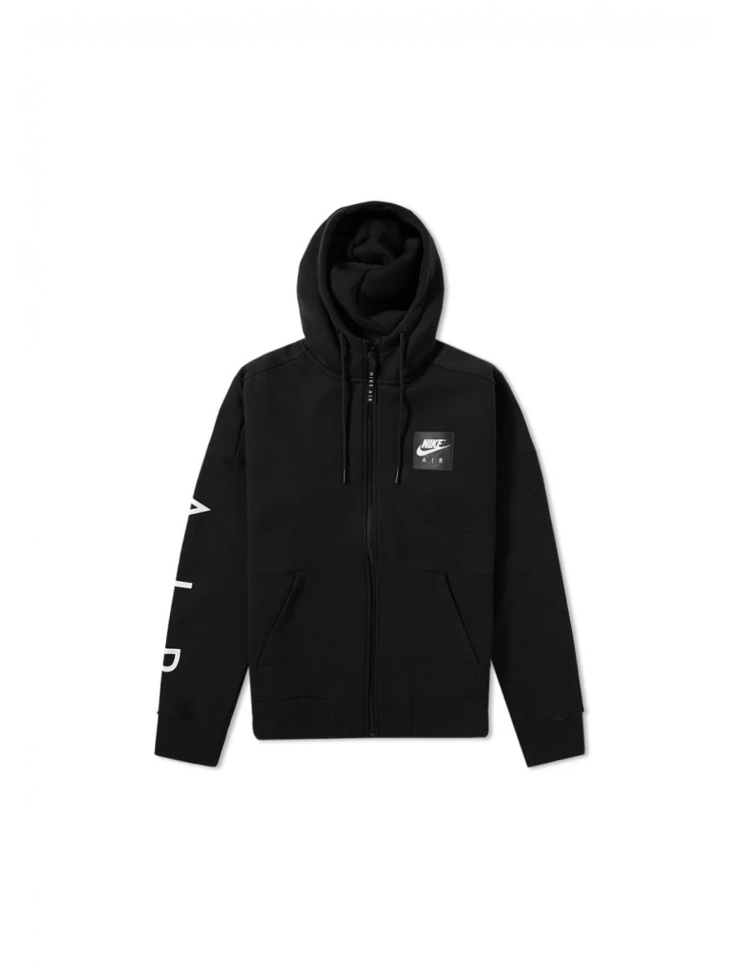 "Black Zip Fleece Hoody {""id"":5,""product_section_id"":1,""name"":""Clothing"",""order"":5} Nike"