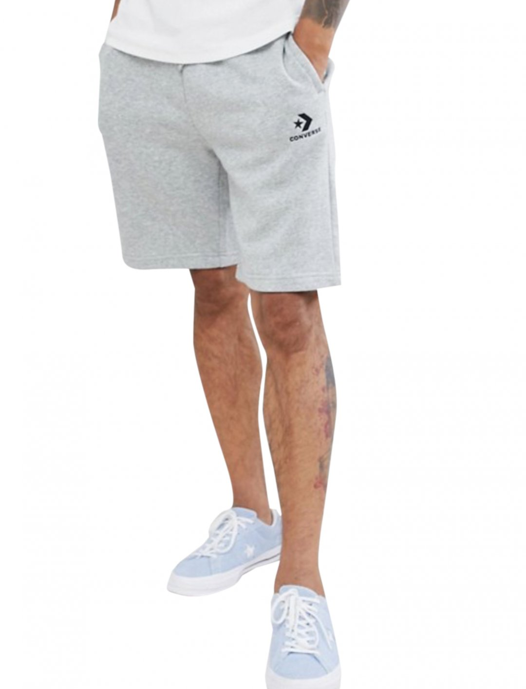 """Logo Jersey Shorts {""""id"""":5,""""product_section_id"""":1,""""name"""":""""Clothing"""",""""order"""":5} Converse"""