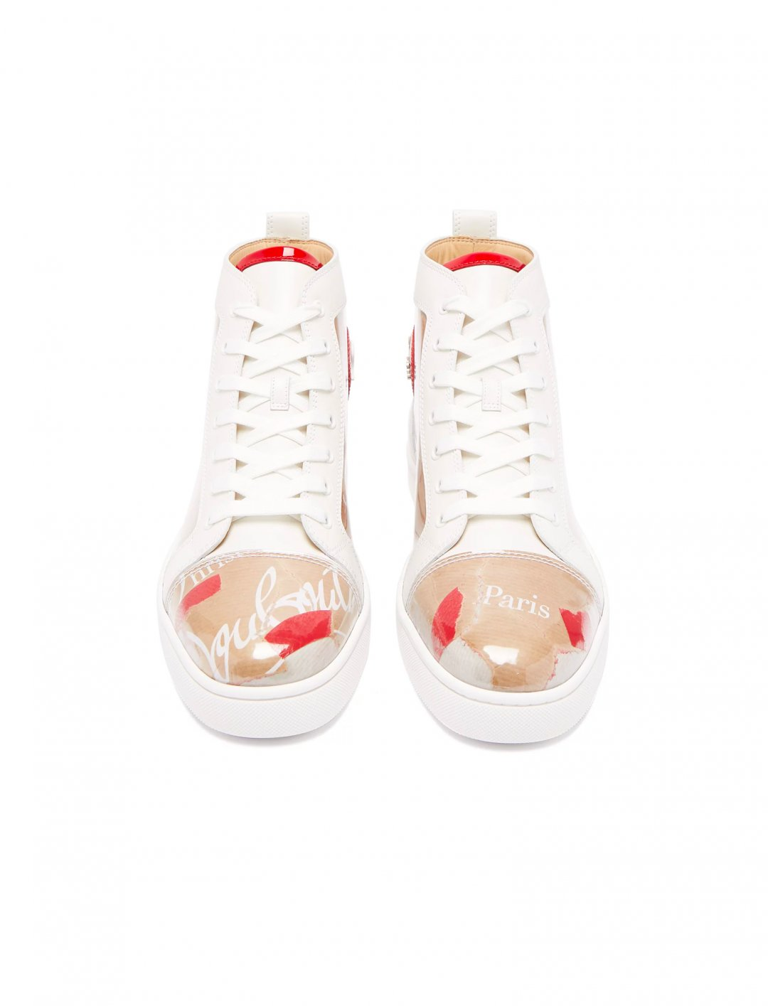 """Not3s' Logo High-Top Trainers {""""id"""":12,""""product_section_id"""":1,""""name"""":""""Shoes"""",""""order"""":12} Christian Louboutin"""