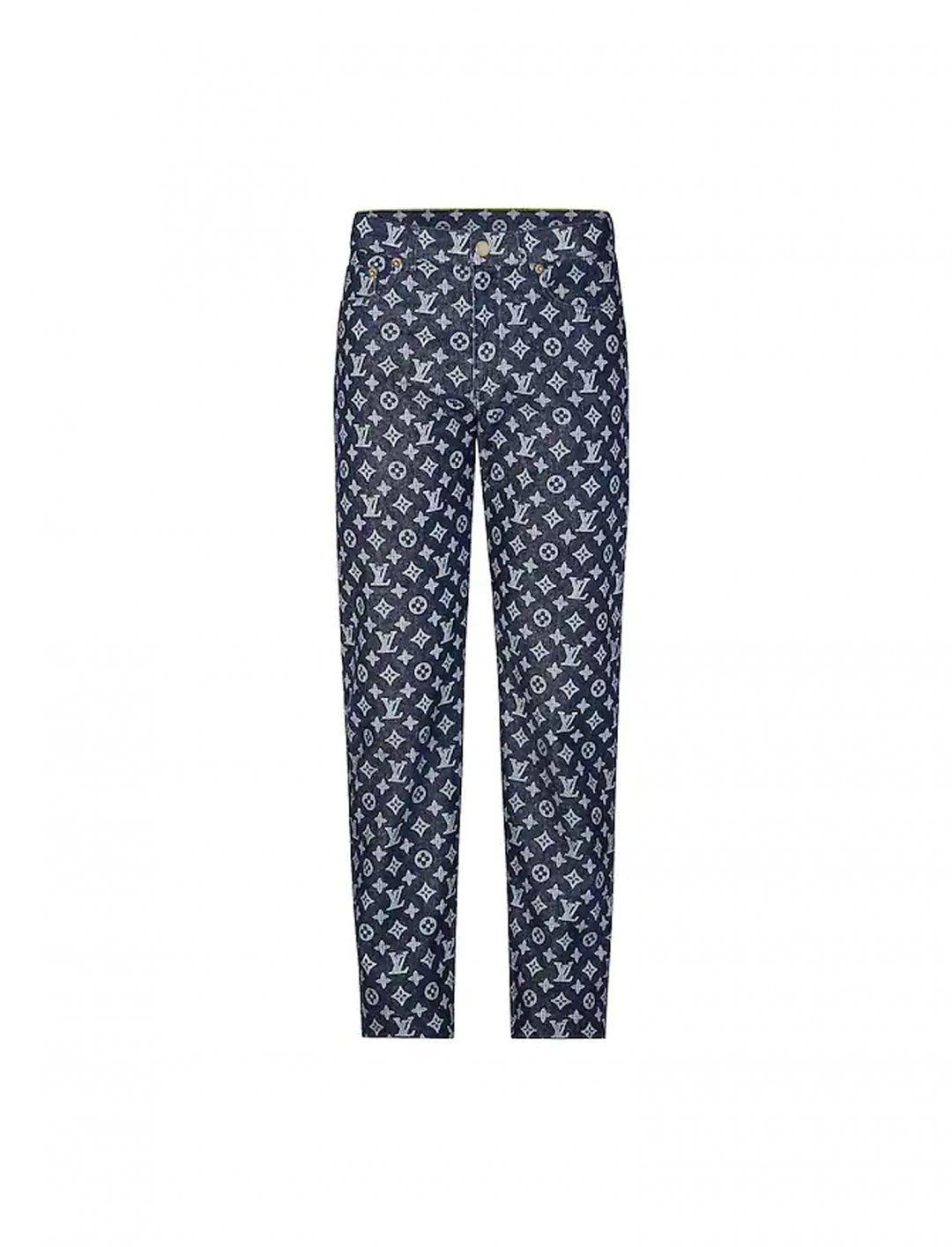 "Not3s' Monogram Regular Jeans {""id"":5,""product_section_id"":1,""name"":""Clothing"",""order"":5} Louis Vuitton"