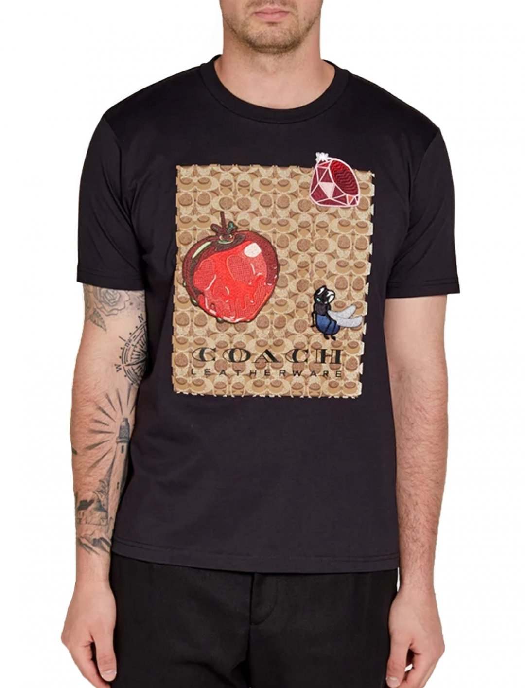 "Not3s' Apple Tee {""id"":5,""product_section_id"":1,""name"":""Clothing"",""order"":5} Coach x Disney"
