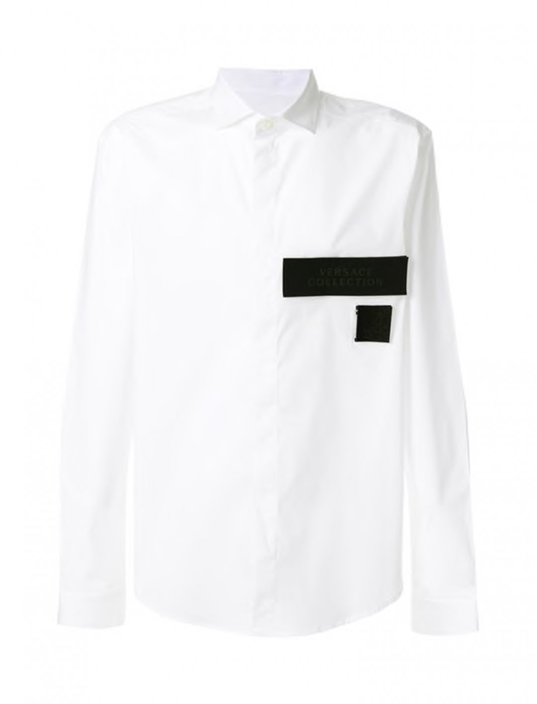 "Patch Detail Shirt {""id"":5,""product_section_id"":1,""name"":""Clothing"",""order"":5} Versace Collection"
