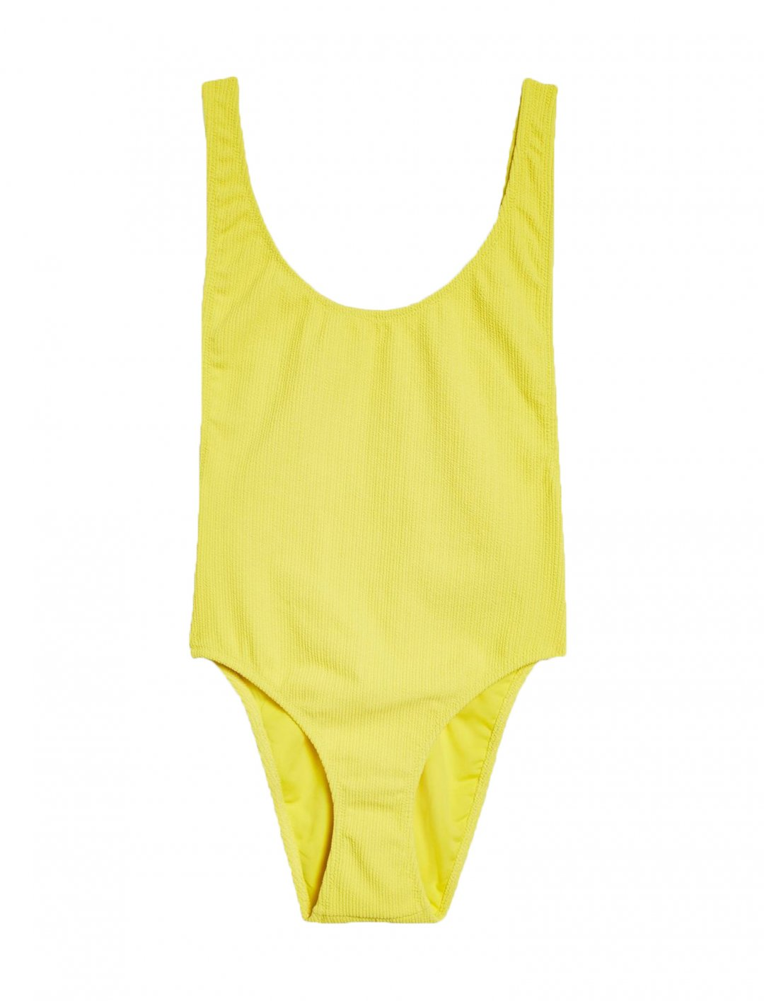 "Scoop Neck Crinkle Swimsuit {""id"":5,""product_section_id"":1,""name"":""Clothing"",""order"":5} Topshop"