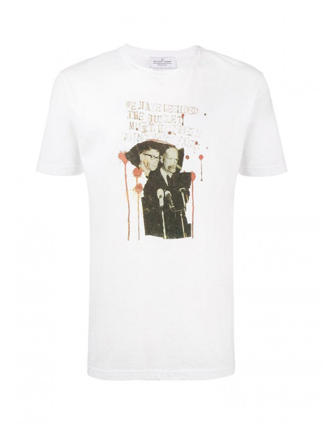 "White T-Shirt {""id"":5,""product_section_id"":1,""name"":""Clothing"",""order"":5} Jean-Michel Basquiat X Browns."