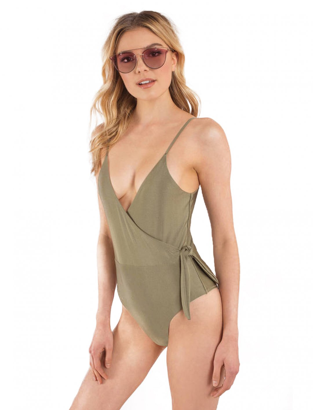 "Wrap Over Ballerina Swimsuit {""id"":5,""product_section_id"":1,""name"":""Clothing"",""order"":5} Somedays Lovin"