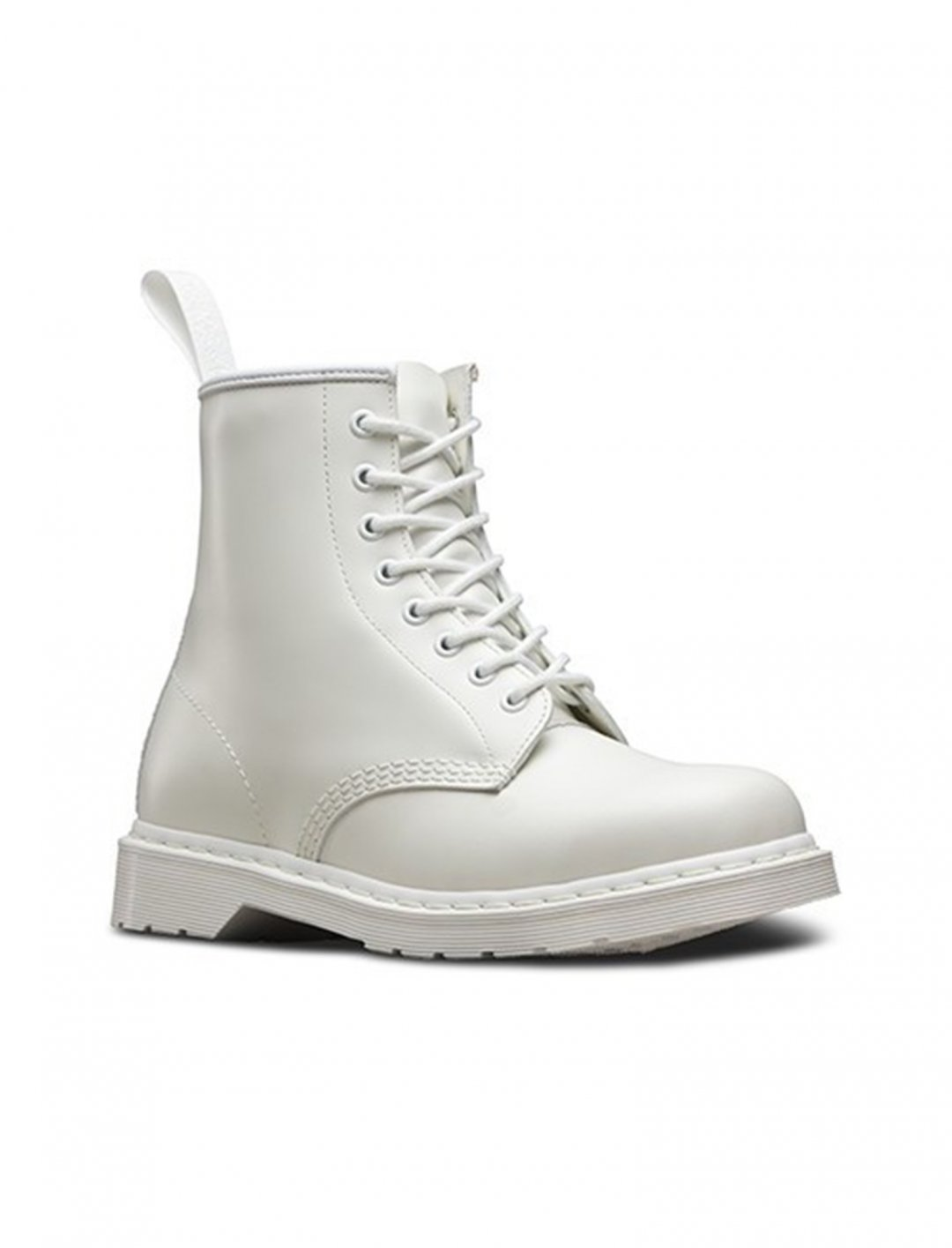 """1460 Mono White Boots {""""id"""":12,""""product_section_id"""":1,""""name"""":""""Shoes"""",""""order"""":12} Dr. Martens"""