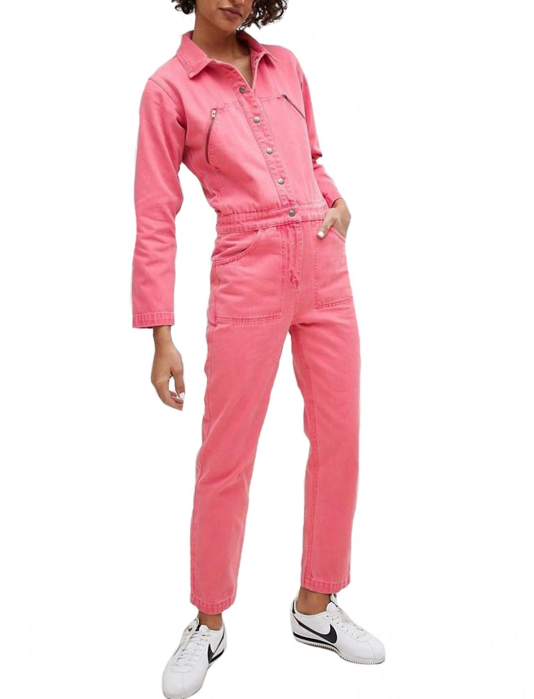 """Denim Boiler Suit {""""id"""":5,""""product_section_id"""":1,""""name"""":""""Clothing"""",""""order"""":5} ASOS DESIGN"""