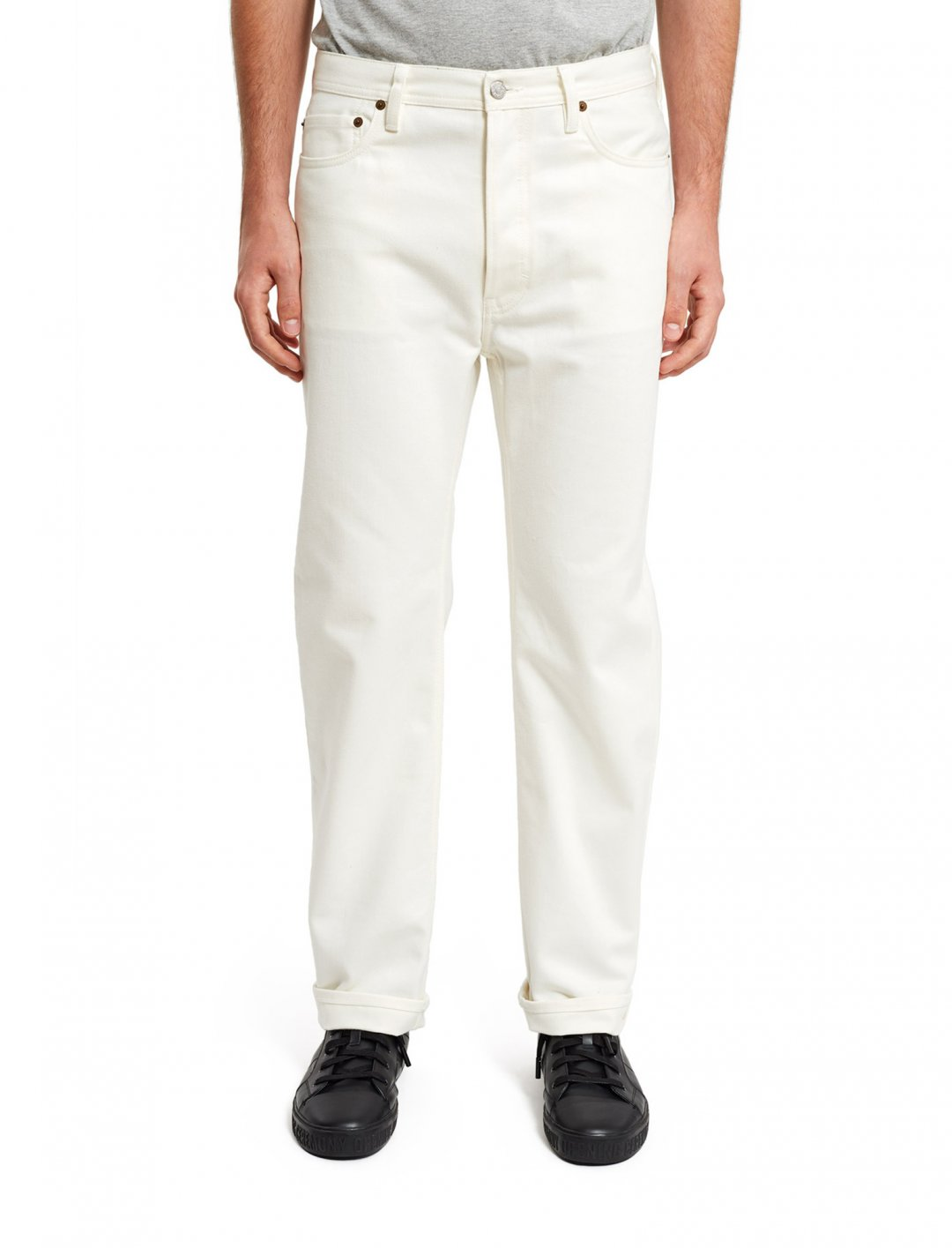 """White Land Jeans {""""id"""":5,""""product_section_id"""":1,""""name"""":""""Clothing"""",""""order"""":5} Acne Studios"""