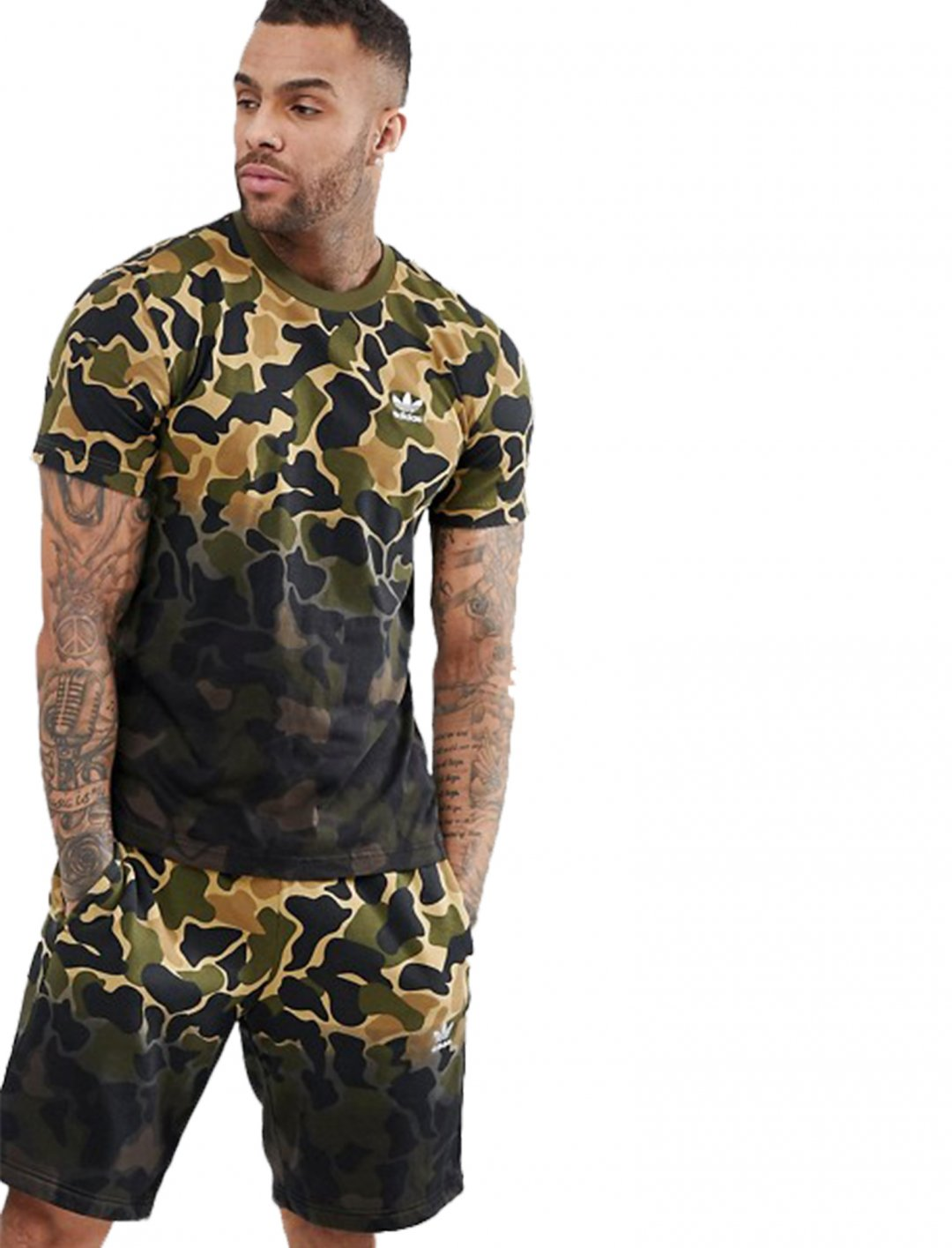 "Adidas Originals Camo Tee {""id"":5,""product_section_id"":1,""name"":""Clothing"",""order"":5} Adidas"