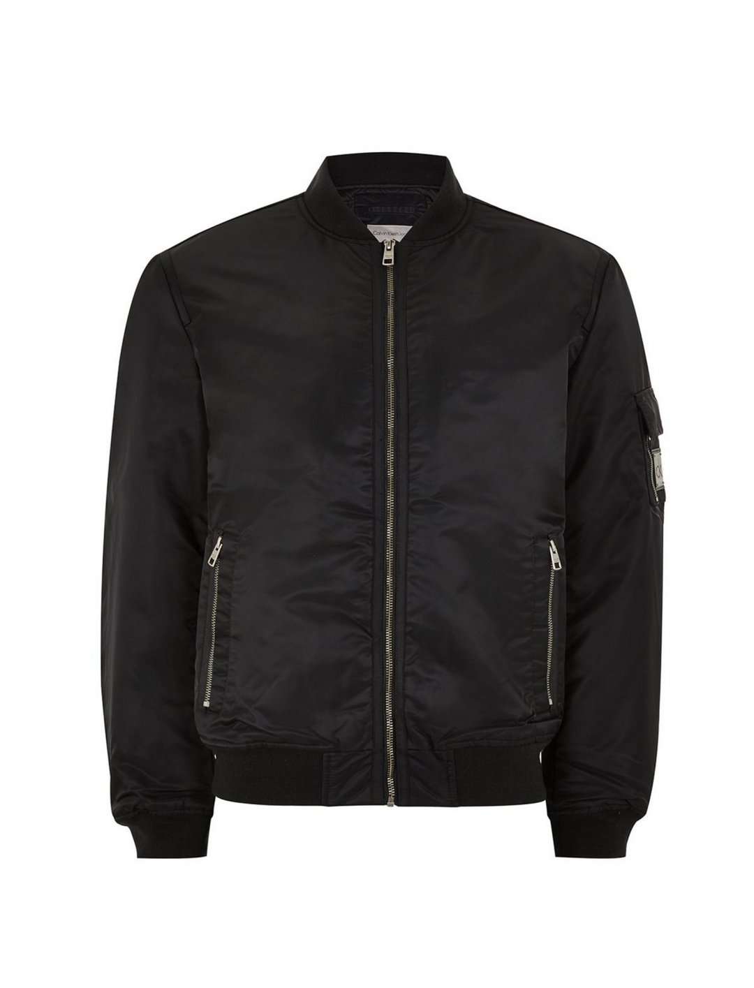 "Calvin Klein Padded Bomber Jacket {""id"":5,""product_section_id"":1,""name"":""Clothing"",""order"":5} Calvin Klein"