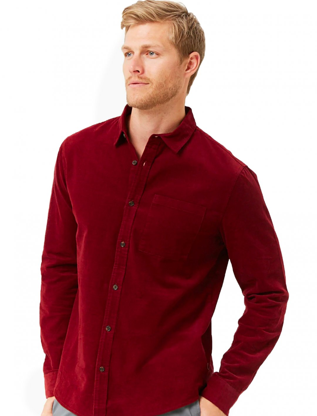 "Corduroy Classic-Fit Shirt {""id"":5,""product_section_id"":1,""name"":""Clothing"",""order"":5} Forever 21"