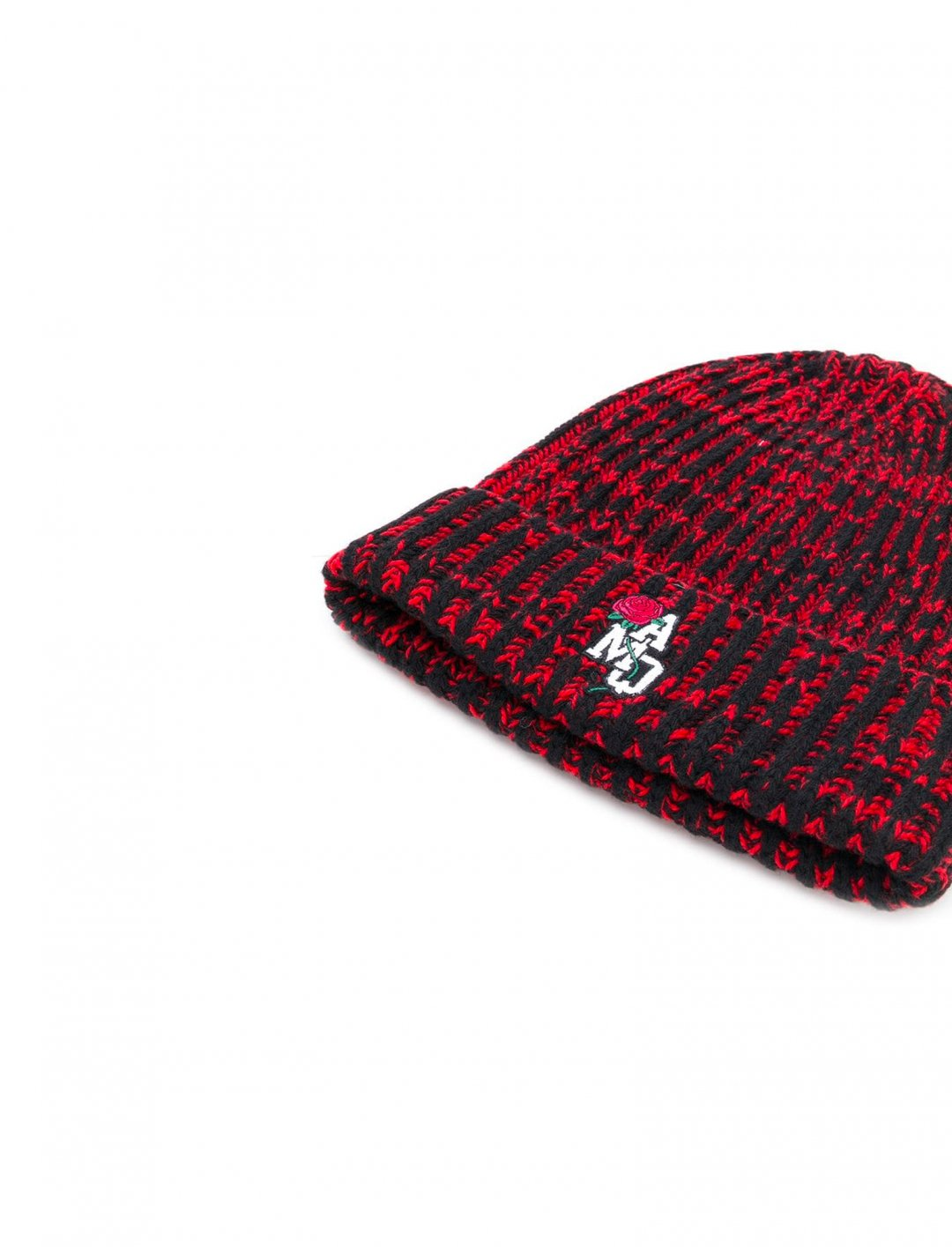 "Ruel's Ribbed Logo Beanie {""id"":16,""product_section_id"":1,""name"":""Accessories"",""order"":15} Alexander McQueen"