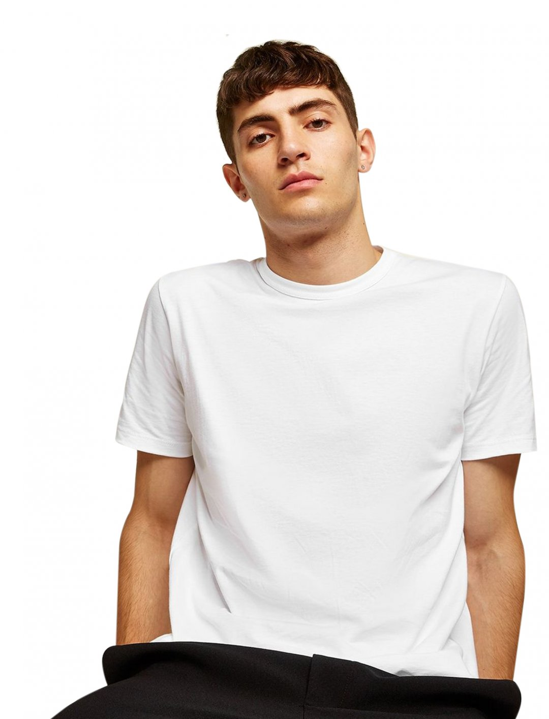 "White Classic T-Shirt {""id"":5,""product_section_id"":1,""name"":""Clothing"",""order"":5} Topman"