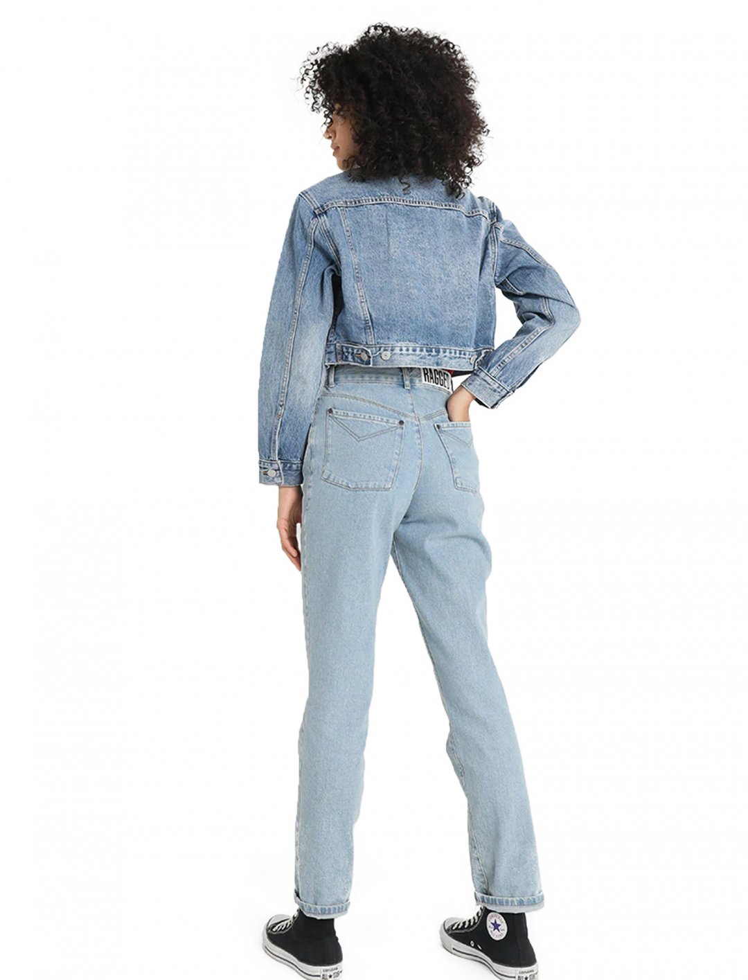 "Sarah Close's Cropped Jacket {""id"":5,""product_section_id"":1,""name"":""Clothing"",""order"":5} Levi's"