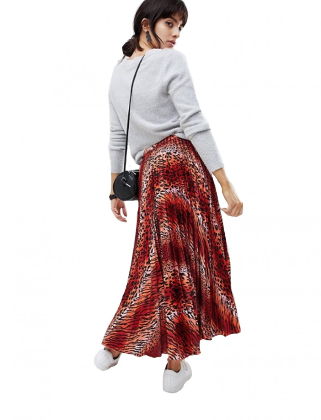 "Sarah Close's Skirt In Leopard Print {""id"":5,""product_section_id"":1,""name"":""Clothing"",""order"":5} ASOS DESIGN"