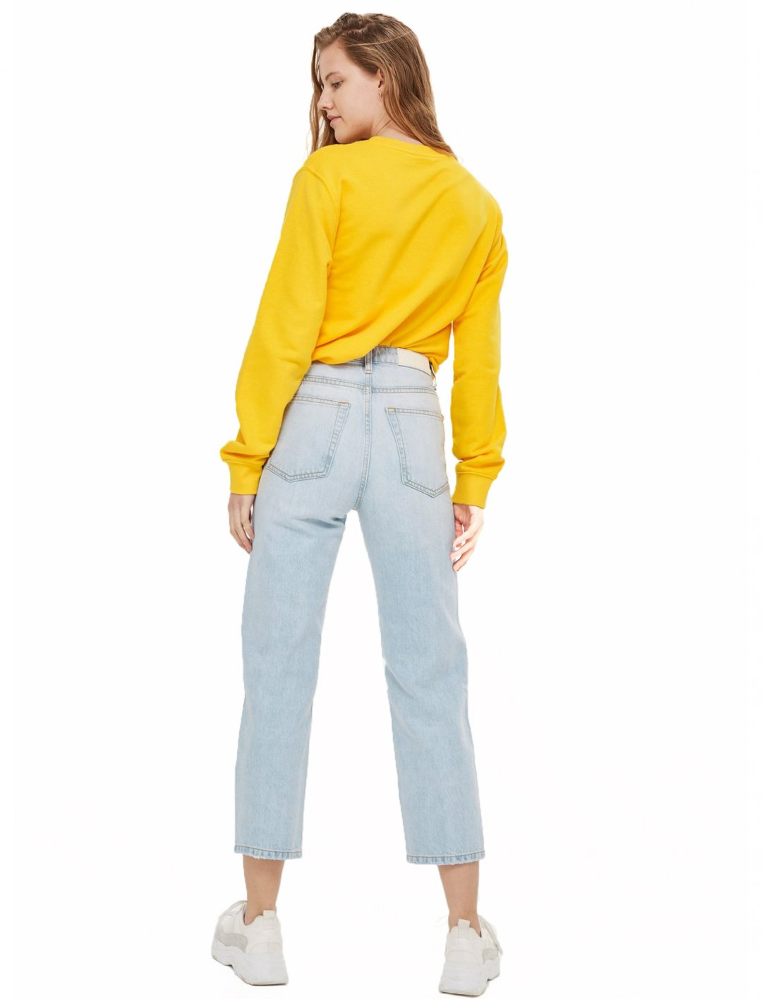 "Straight Cropped Jeans {""id"":5,""product_section_id"":1,""name"":""Clothing"",""order"":5} Topshop"