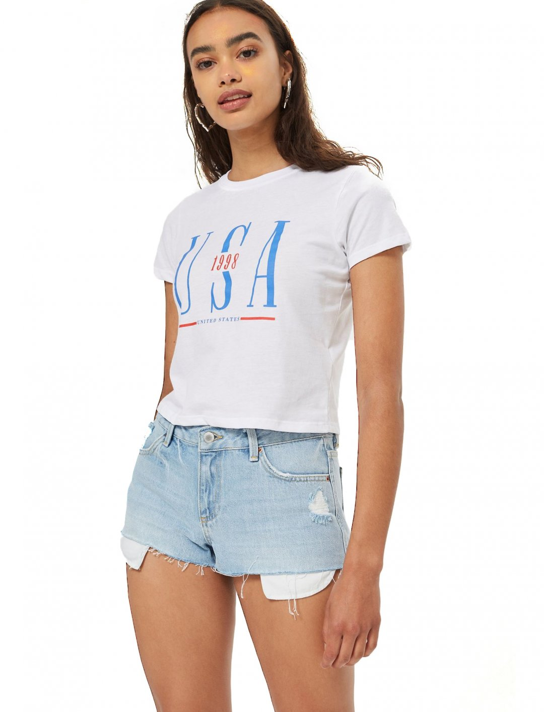 "USA Neat T-Shirt {""id"":5,""product_section_id"":1,""name"":""Clothing"",""order"":5} Topshop"