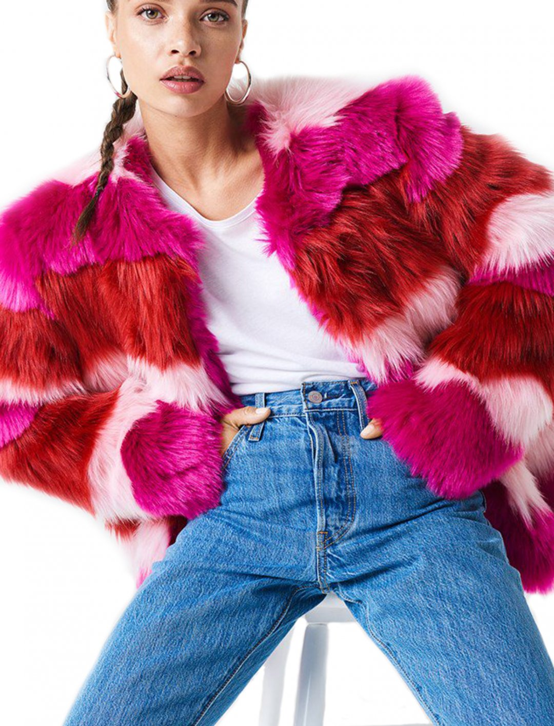 "Faux Fur Coat {""id"":5,""product_section_id"":1,""name"":""Clothing"",""order"":5} NA-KD"