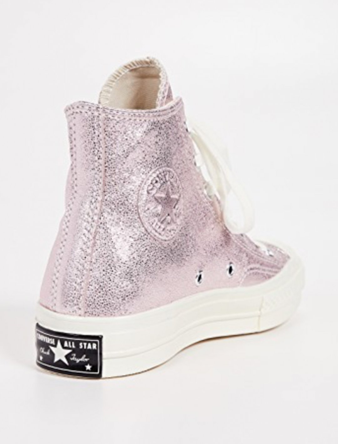 "Metallic Trainers {""id"":12,""product_section_id"":1,""name"":""Shoes"",""order"":12} Converse"