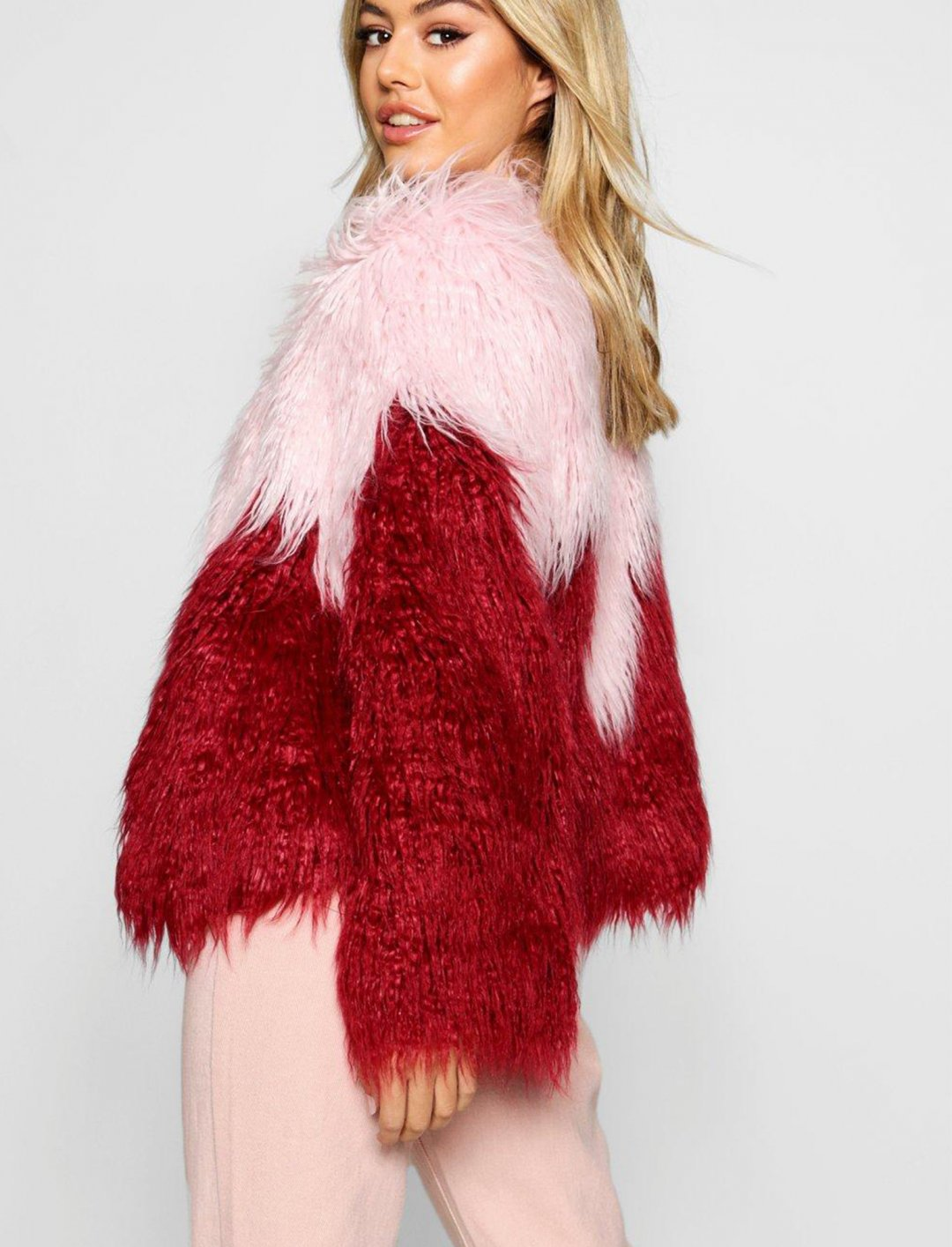"Stela Cole's Fur Coat {""id"":5,""product_section_id"":1,""name"":""Clothing"",""order"":5} Boohoo"
