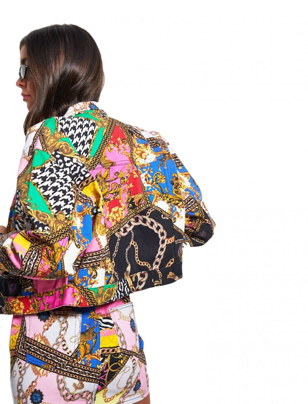 "Stela Cole's Printed Jacket {""id"":5,""product_section_id"":1,""name"":""Clothing"",""order"":5} Jaded"
