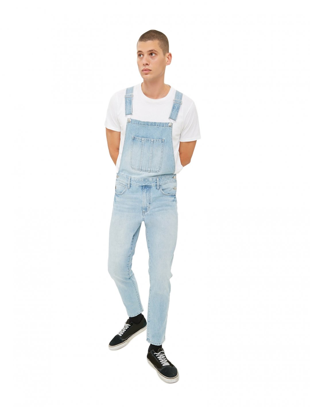 "Clean Wash Denim Dungarees {""id"":5,""product_section_id"":1,""name"":""Clothing"",""order"":5} Forever 21"
