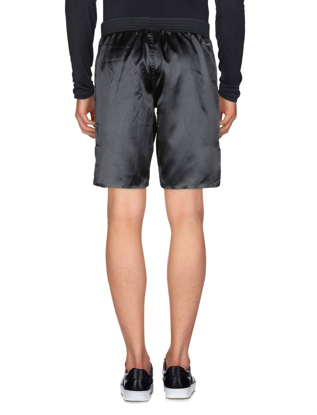 "Satin Shorts In Black {""id"":5,""product_section_id"":1,""name"":""Clothing"",""order"":5} Reebok"
