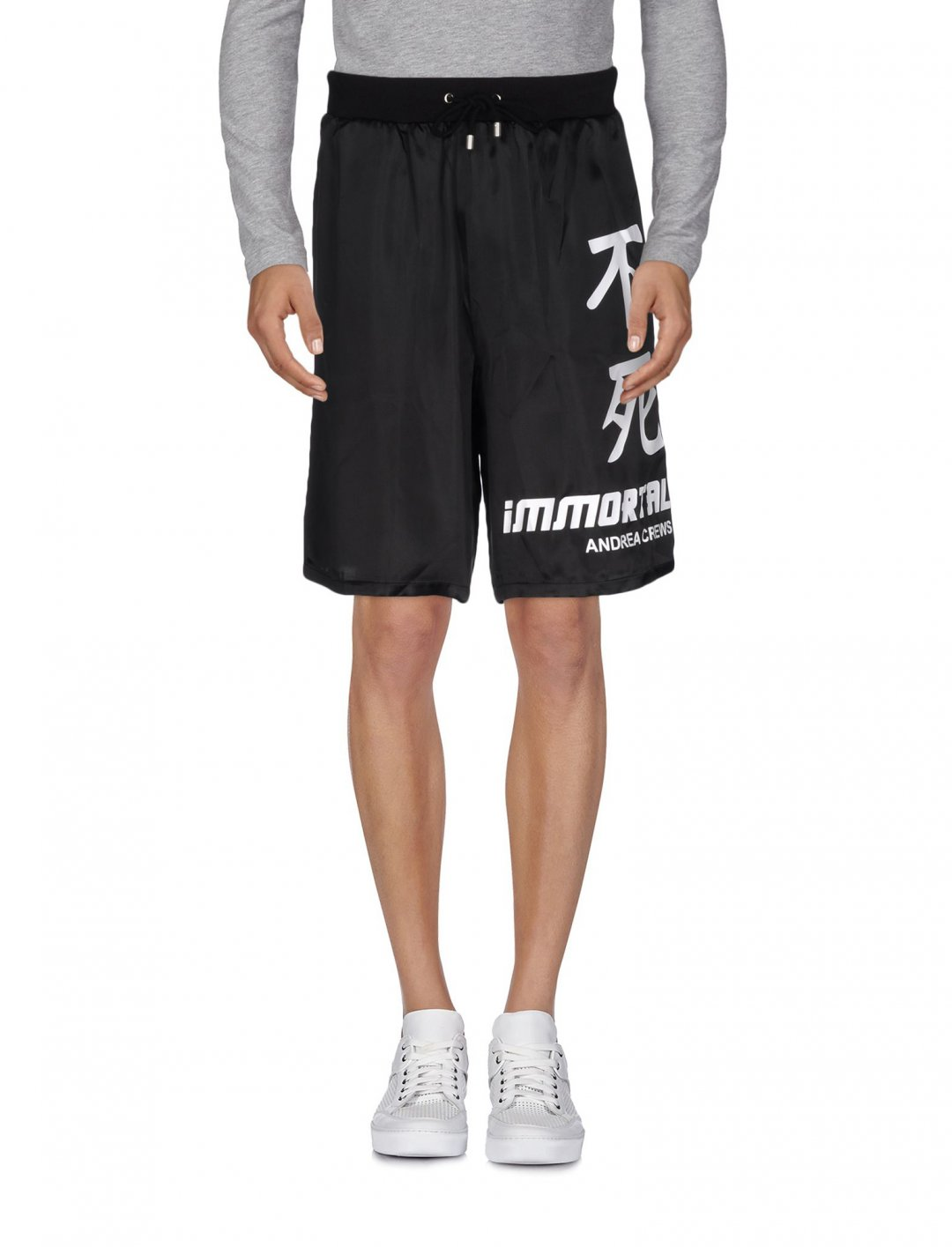"Shorts In Black {""id"":5,""product_section_id"":1,""name"":""Clothing"",""order"":5} Andrea Crews"