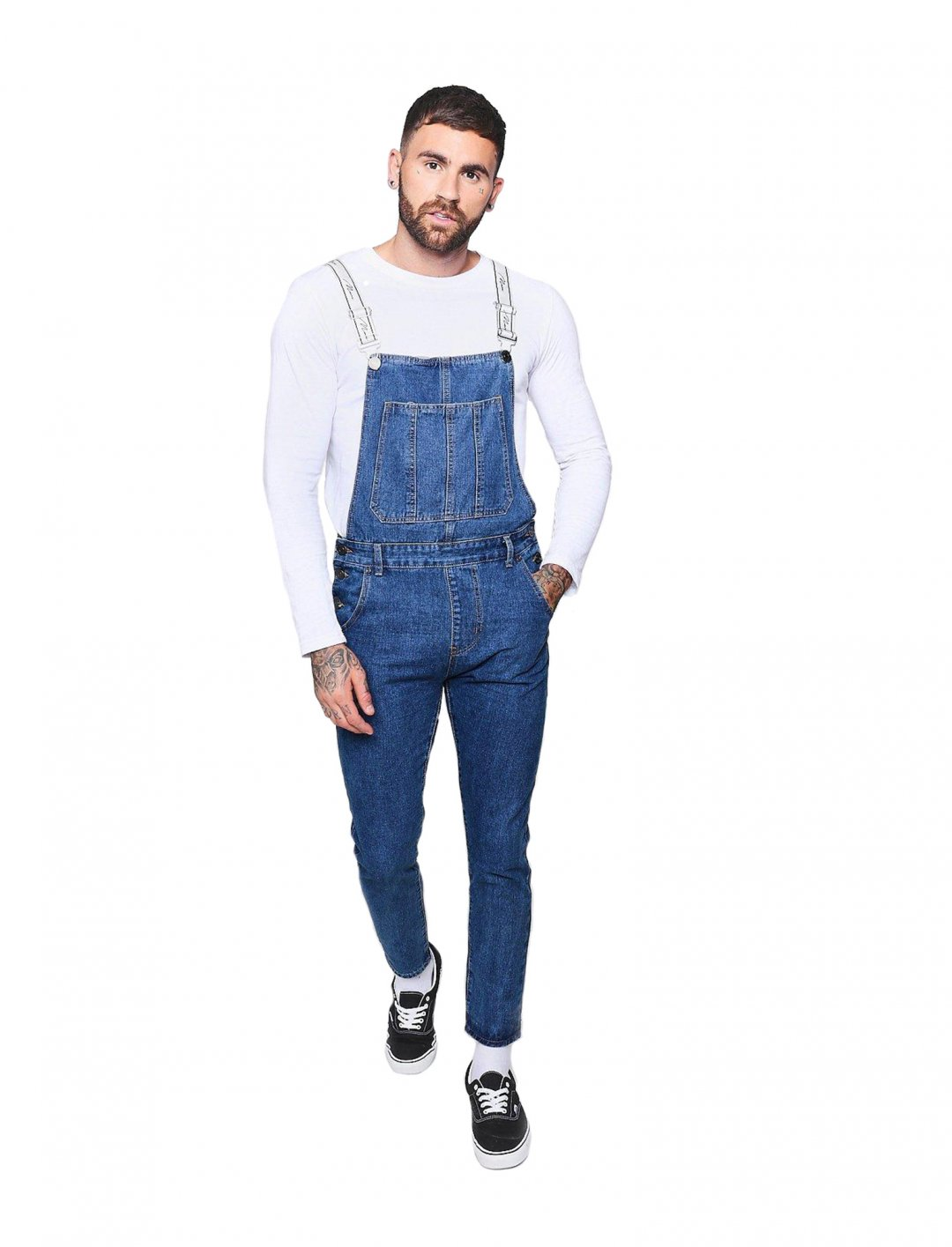 "Skinny Fit Dungarees {""id"":5,""product_section_id"":1,""name"":""Clothing"",""order"":5} boohooMAN"