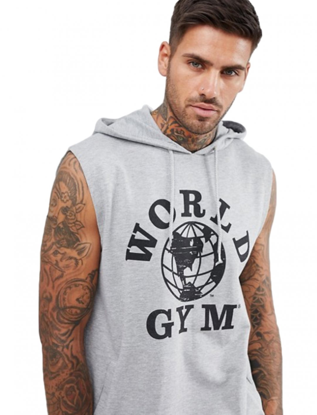 "Sleeveless Hoodie {""id"":5,""product_section_id"":1,""name"":""Clothing"",""order"":5} ASOS DESIGN"