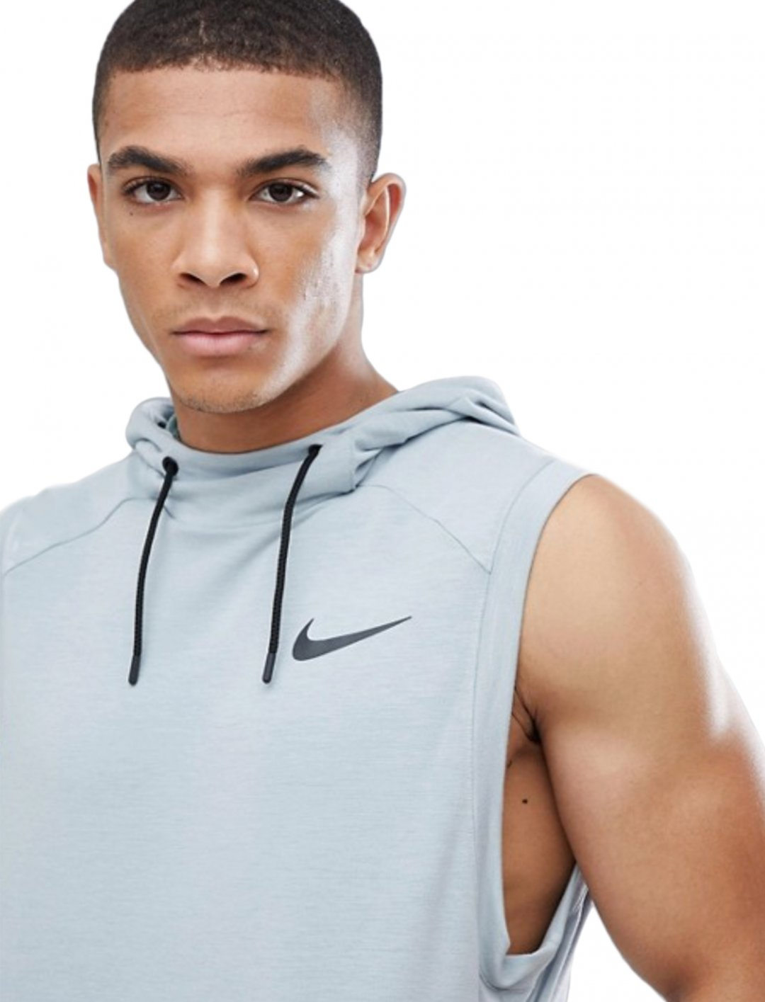 "Sleeveless Hoodie In Mint {""id"":5,""product_section_id"":1,""name"":""Clothing"",""order"":5} Nike Training"