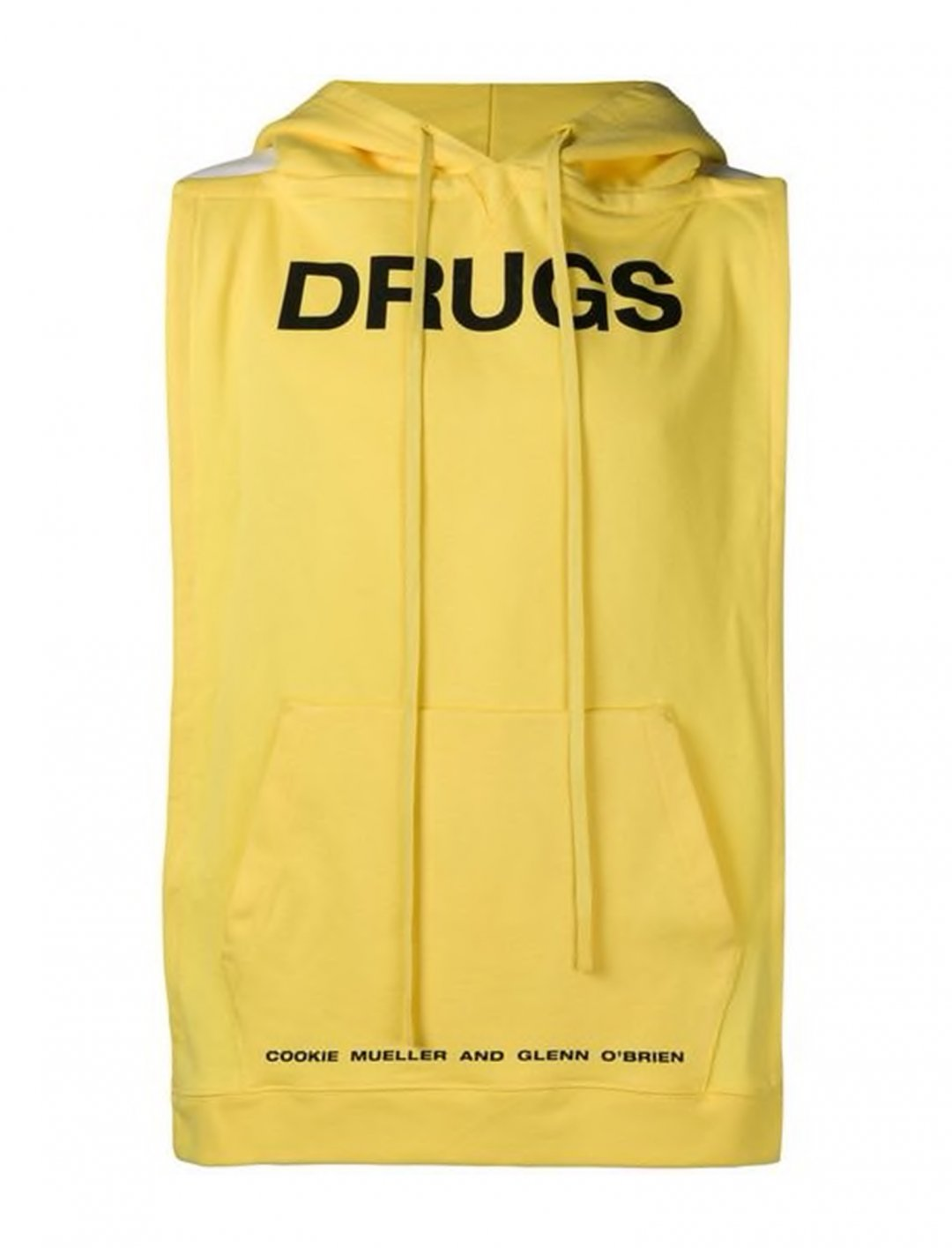 "Swizz Beatz' Sleeveless Hoodie {""id"":5,""product_section_id"":1,""name"":""Clothing"",""order"":5} Raf Simons"