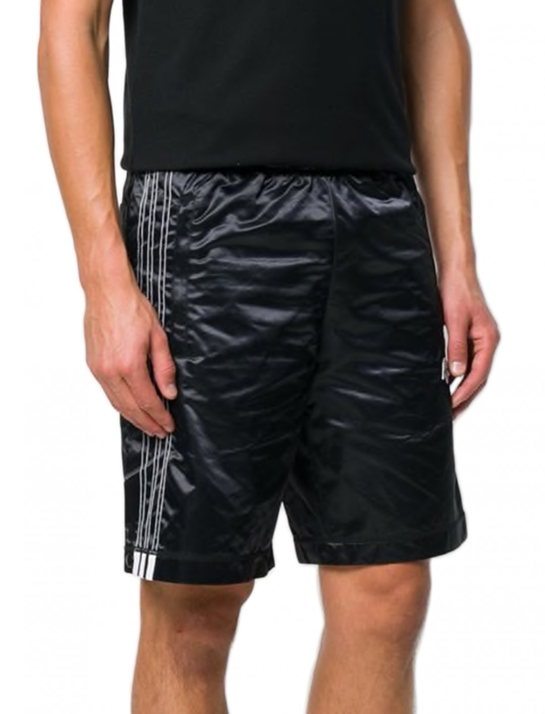 "Swizz Beatz' Track Shorts {""id"":5,""product_section_id"":1,""name"":""Clothing"",""order"":5} adidas Originals by Alexander Wang"