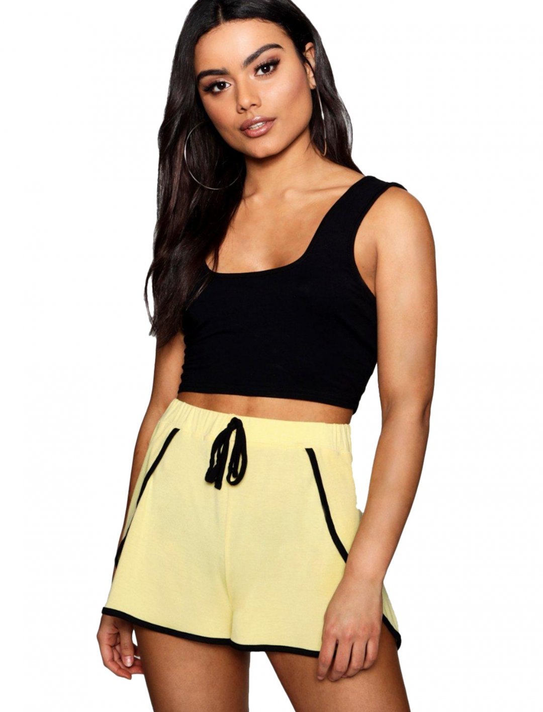 """Boohoo Contrast Stripe Runner Short {""""id"""":5,""""product_section_id"""":1,""""name"""":""""Clothing"""",""""order"""":5} Boohoo"""