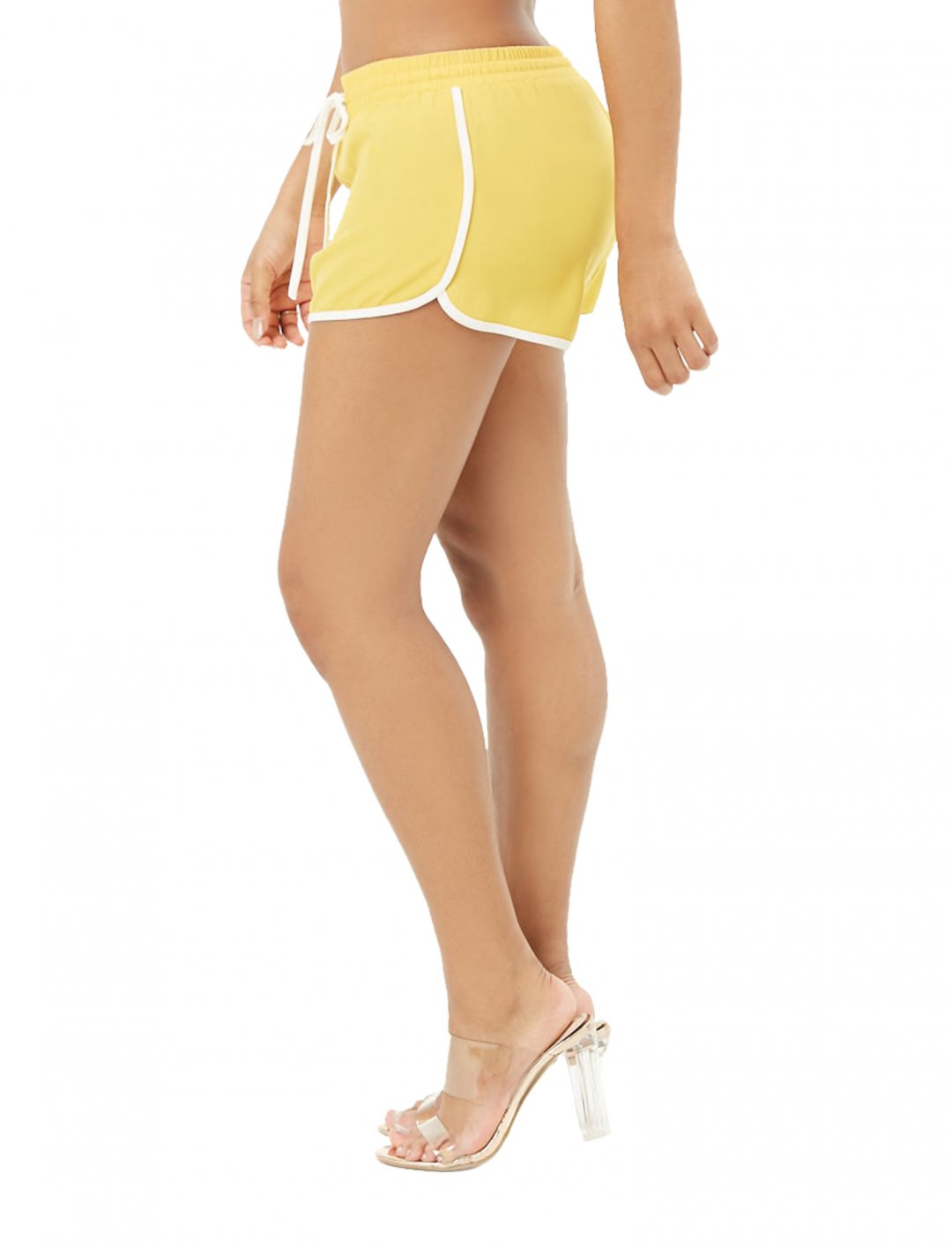 "Contrast Trim Shorts {""id"":5,""product_section_id"":1,""name"":""Clothing"",""order"":5} Forever21"