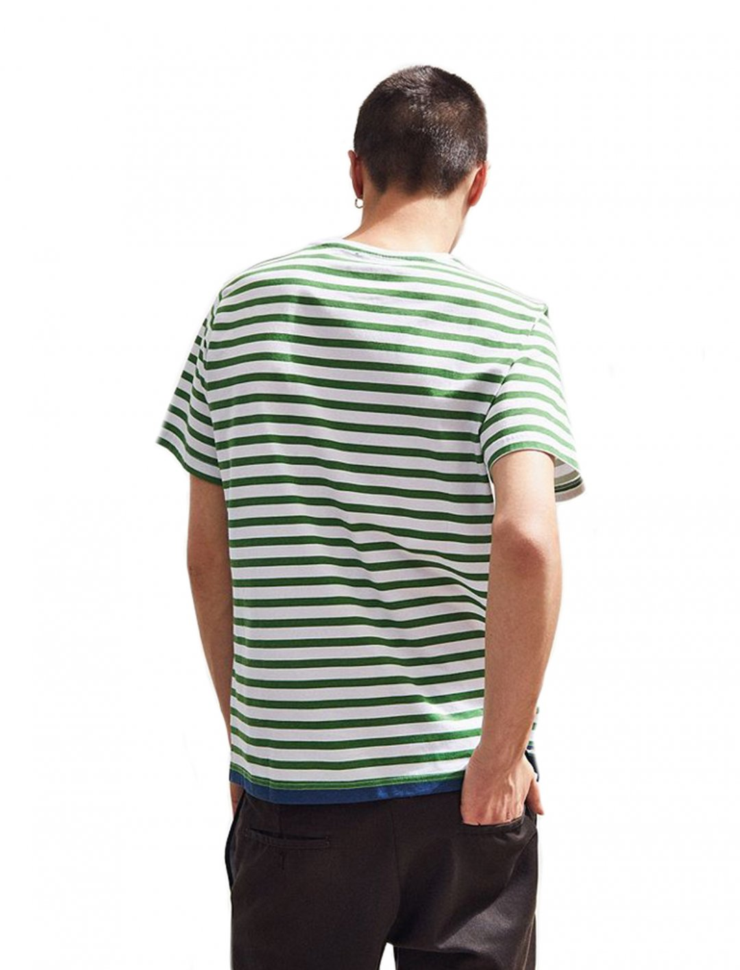 "Native Youth Stripe Tee {""id"":5,""product_section_id"":1,""name"":""Clothing"",""order"":5} Native Youth"