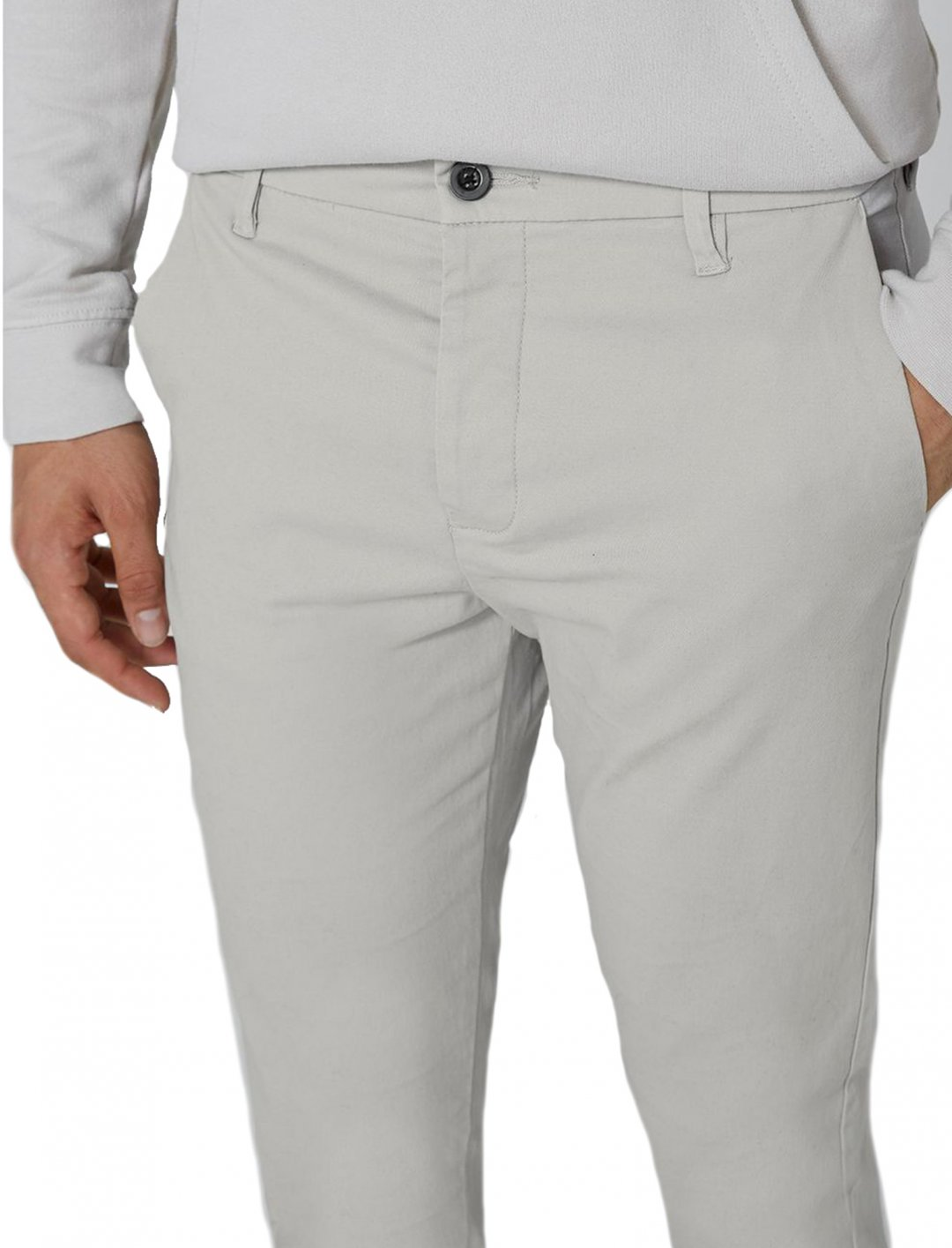 "Topman Grey Stretch Skinny Chinos {""id"":5,""product_section_id"":1,""name"":""Clothing"",""order"":5} Topman"