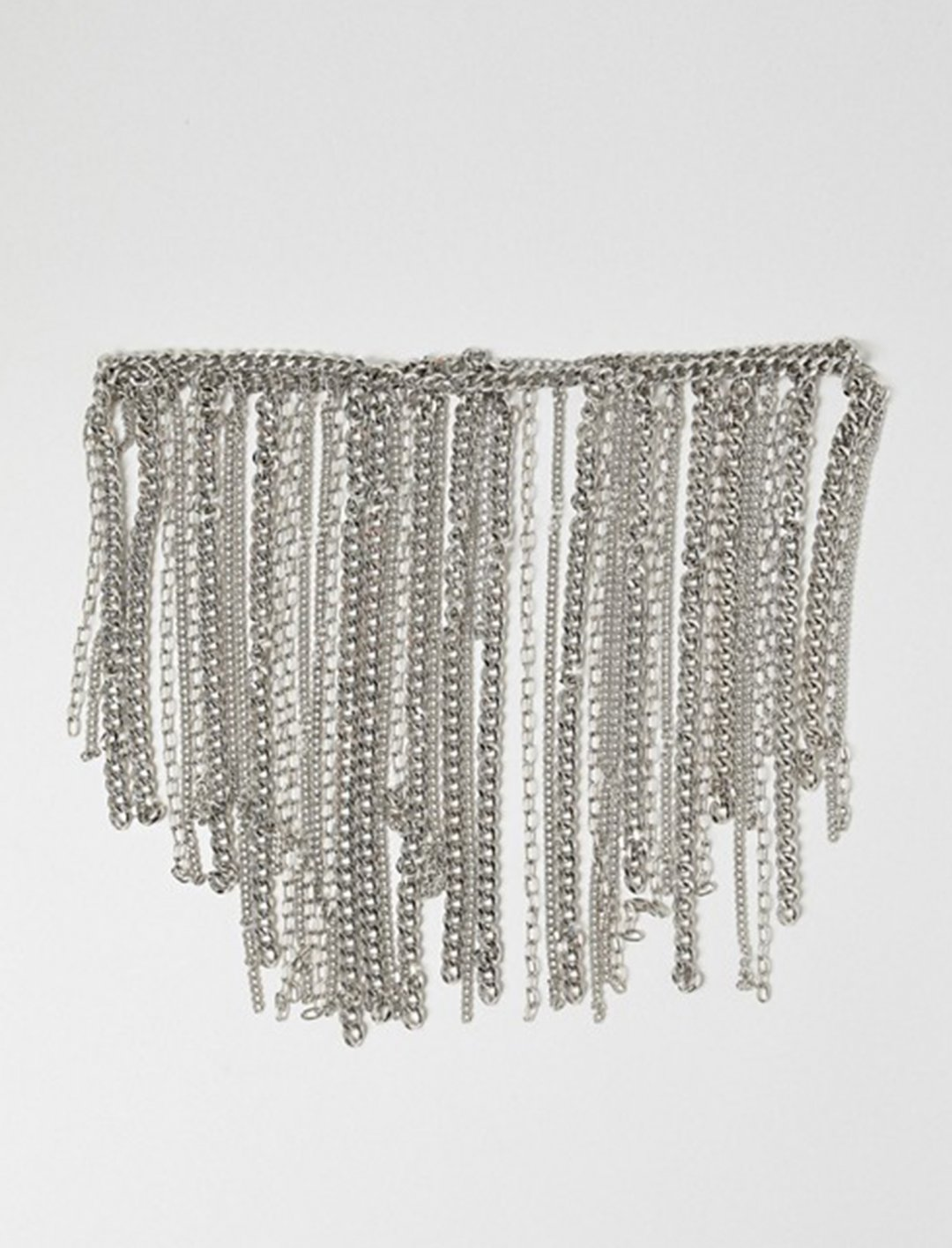 """Chain Fringe Skirt {""""id"""":16,""""product_section_id"""":1,""""name"""":""""Accessories"""",""""order"""":15} Asos"""